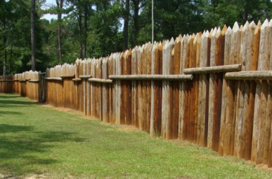 Fort Mims Stockade