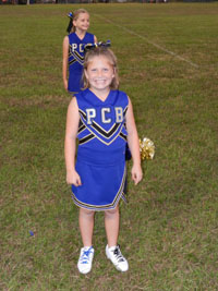 Lily Cheerleader